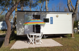 Mobile-Home sans sanitaires 4 Camping Marina