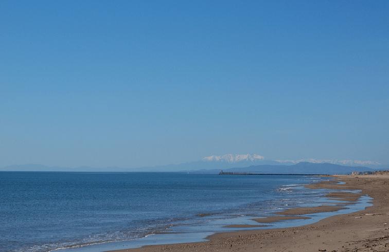 Mer Valras Montagne Camping Marina